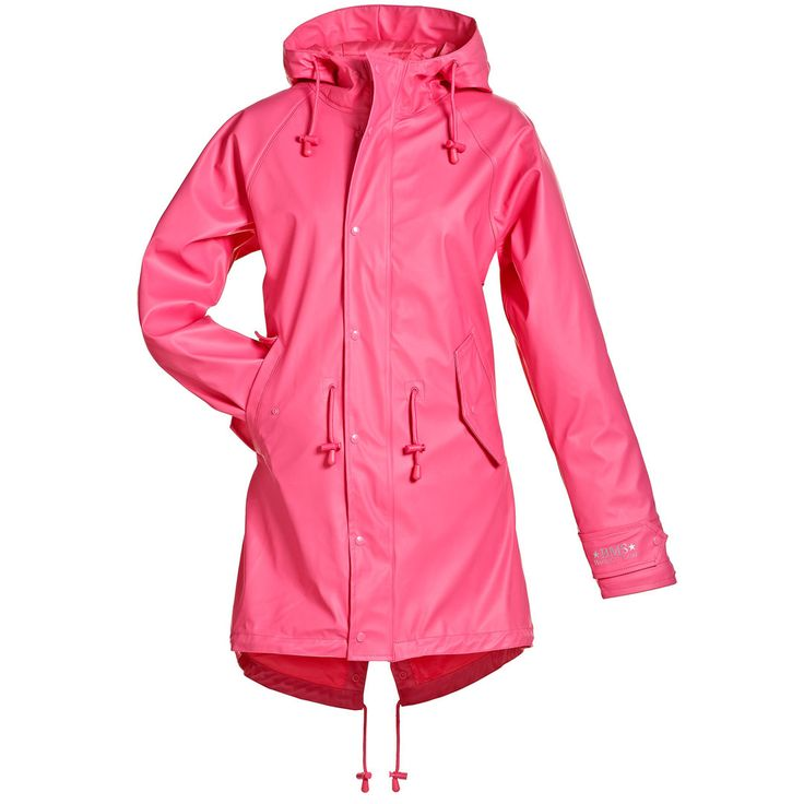 BMS HafenCity® Coat - SoftSkin® - Regenmantel pink  #pink #Regenmantel #Friesennerz