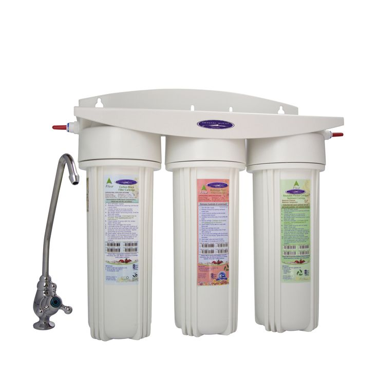 Ceramic Triple Under Sink Water Filter System