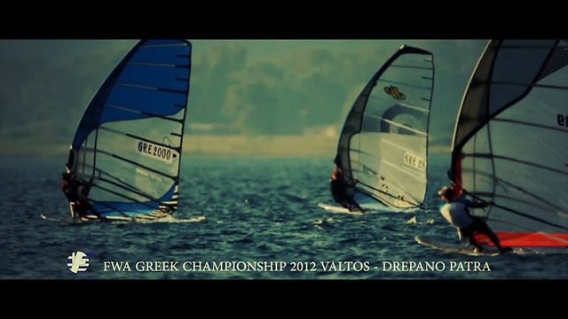 This is the official trailer of the Greek Formula Windsurfing Association Championship 2012 organized by FWA (http://fwa.gr) in Valtos - Drepano, Achaia, Greece on 20-22nd of July 2012. The long edition video is coming soon.Event: Greek FWA ChampionshipLocation: Valtos - Drepano, GreeceRace results: http://www.formula-windsurfing-association.gr/portal/races-2012Director, Production Executive, Post Production: Pantelis Ladas (http://panteliz.com)Video in relation…