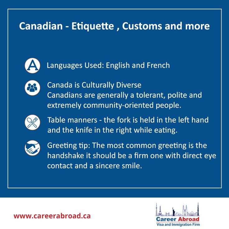 Before you plan to study in #Canada, here is a look at the culture which prevails there.  For assistance with #studentvisa #admissions visit: http://www.careerabroad.ca/study-abroad-canada/