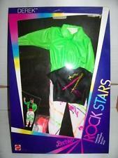 Mattel Barbie ROCKERS ROCK STARS Abito #1177 MIB, 1985