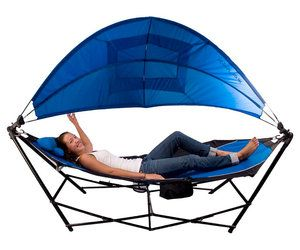 Kijaro - Portable Hammock With Canopy and Cooler