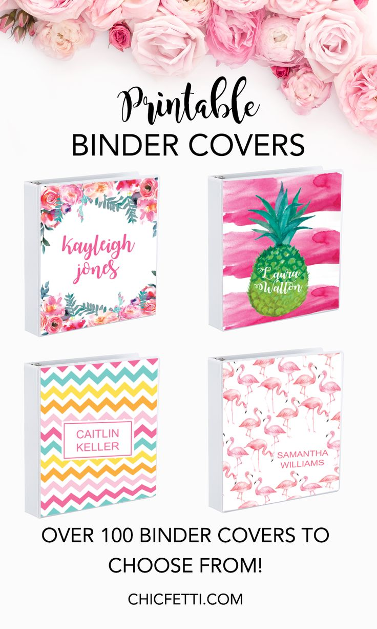 how to make your own printable binder covers  easy and