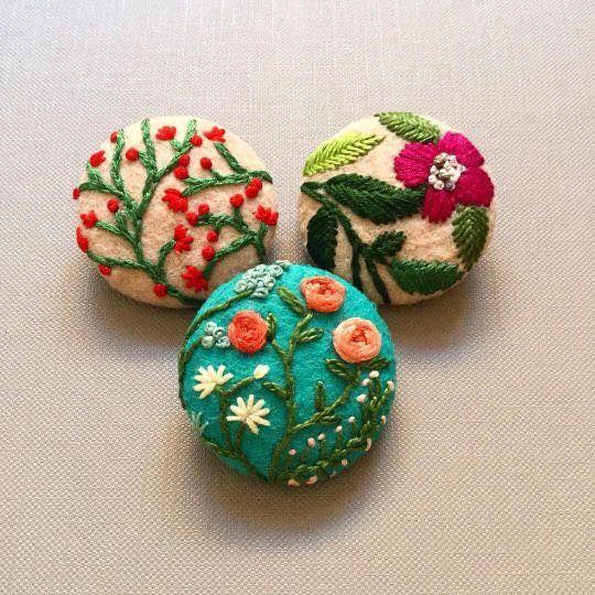 Gorgeous tiny embroidery