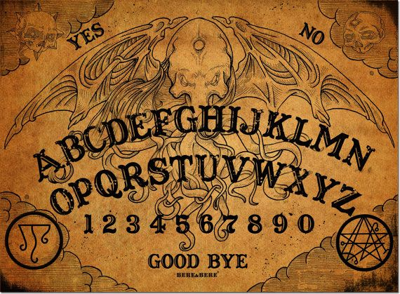 Cthulhu Talking Board Ouija Board Witchcraft by CthulhuProject