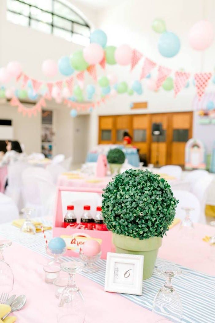 1950s American Diner Birthday Party Vintage Party Ideas Party