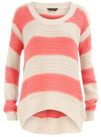 Coral stripes! One of my favorite colors :)