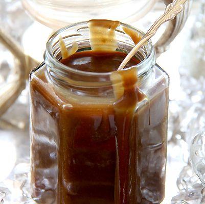 Rich, decadent, addictive vegan Butterscotch Sauce.