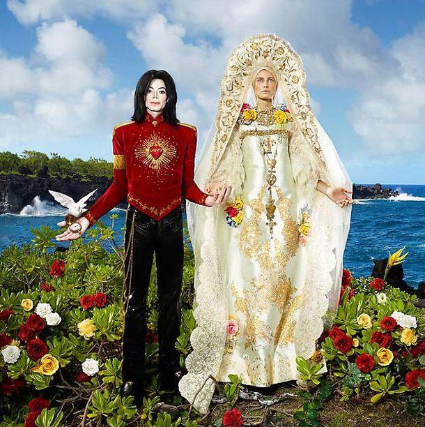 Michael Jackson & Mary – by David Lachapelle