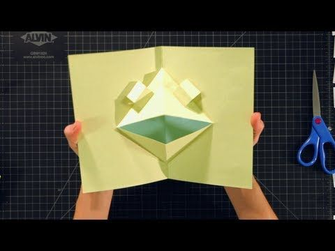 How to Make Pop-Up Cards and Crafts: Basic Face