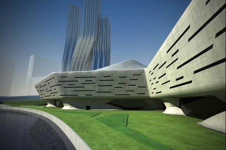 Dubai Financial Market - Zaha Hadid Architects - Wood-Furniture.biz
