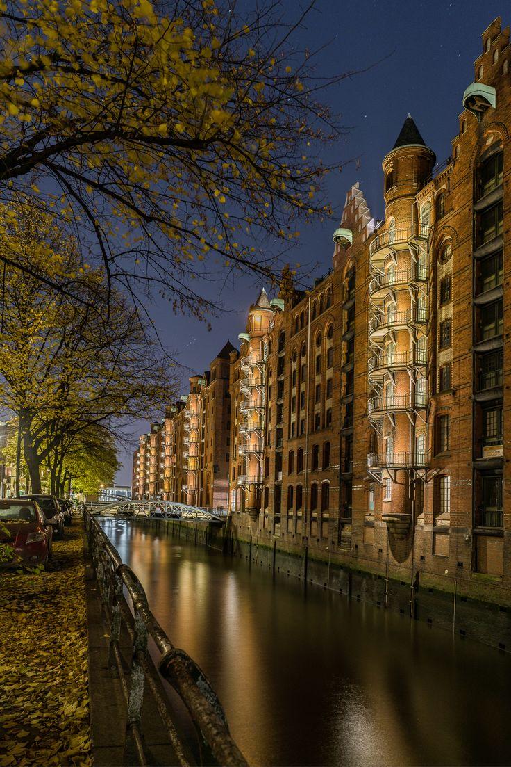 Hamburg Foto aus der Speicherstadt vom Wandrahmsfleet   Bildschönes Hamburg