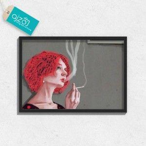 Plakat w ramie Zakaz palenia 70x50cm