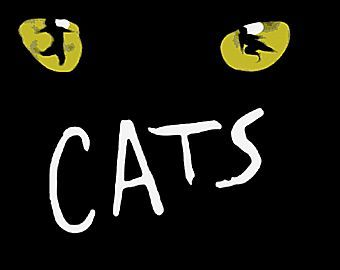 """Logo for """"Cats"""" of 1981, one of the longest running stage productions in recent history."""