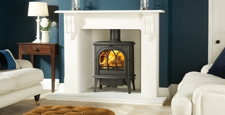 Wood burning Stove, Huntingdon 35.  Comes in a range of different colours.