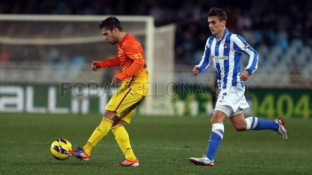 Jordi Alba, FC Barcelona | Real Sociedad 3-2 FC Barcelona. [2013-01-19]
