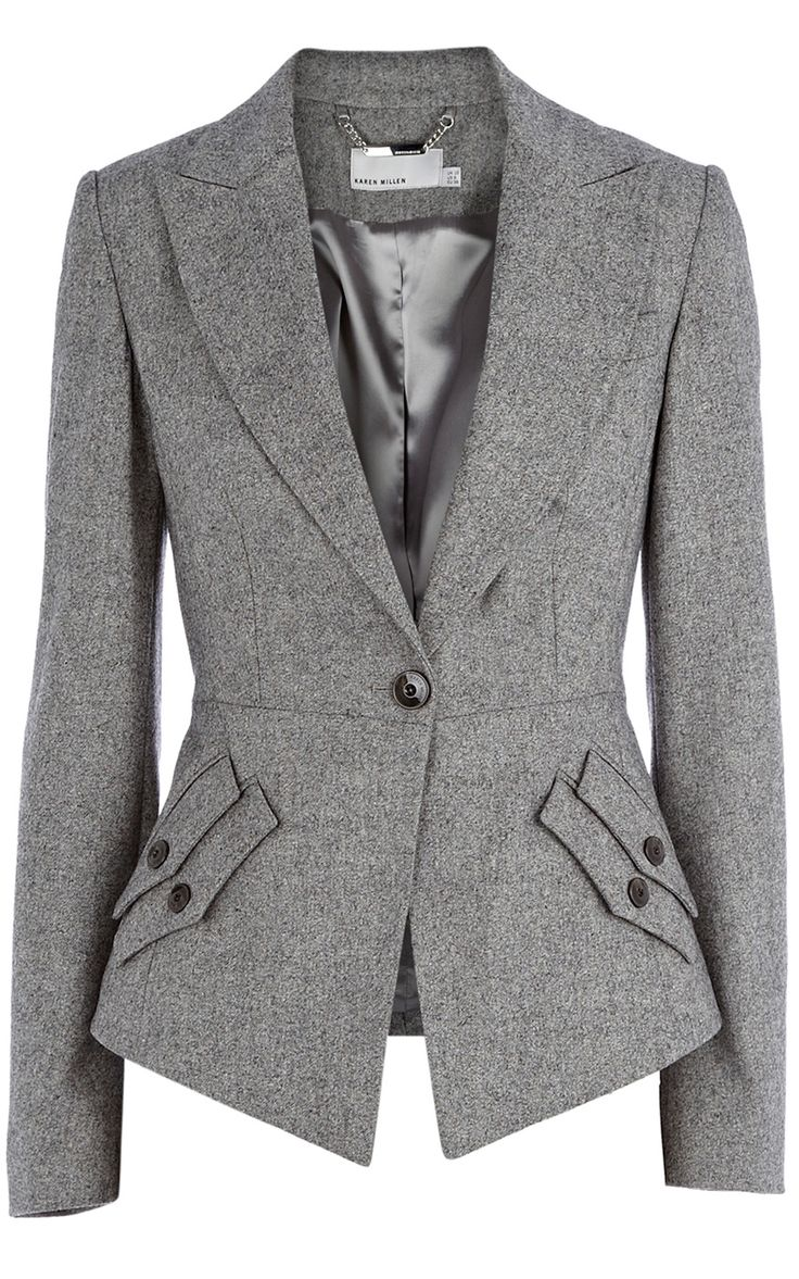 Texture tailoring jacket | Luxury Women's sale_all | Karen Millen. I'm not skinny enough to wear this, but it is pretty! #womensjackets