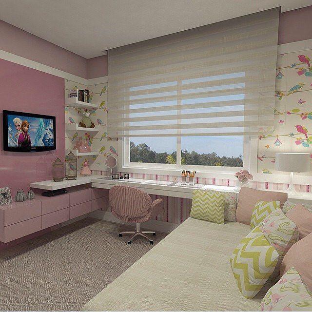 Que delicia de quarto por Daniel Kroth. @decorcriative