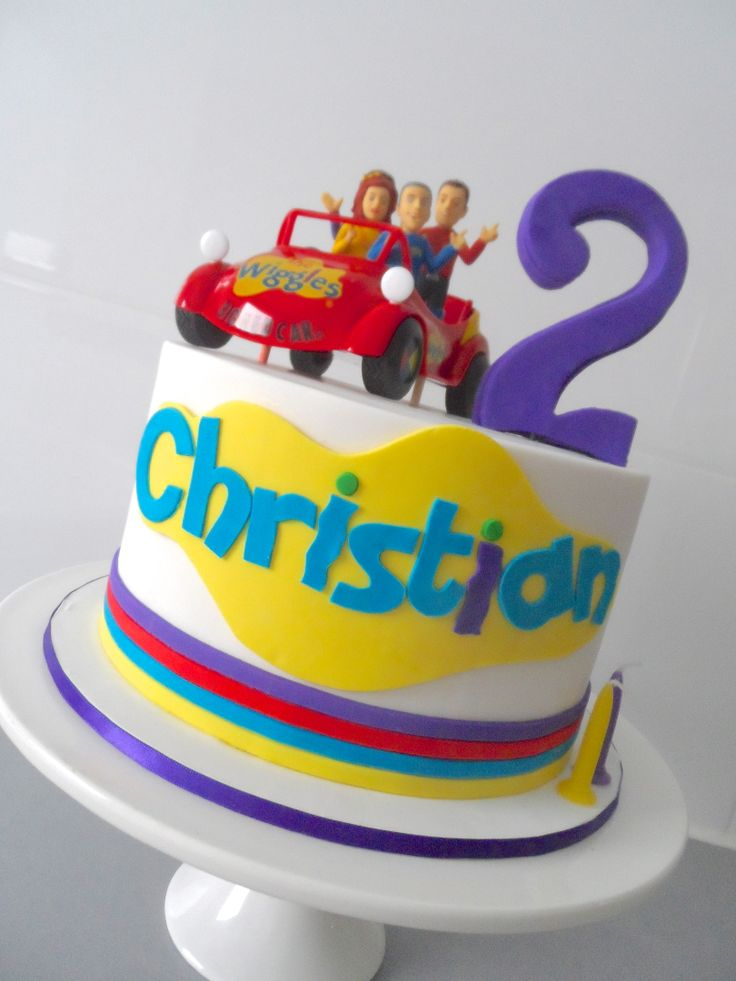 Wiggles Cake by Finesse Cakes by Ingrid Yarraville Melbourne
