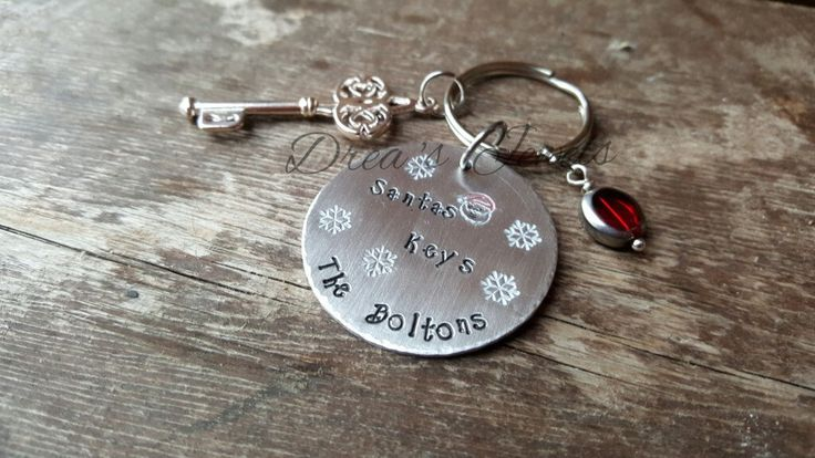 Personalised Santa's Key ~ Santas Magic Keys - pinned by pin4etsy.com