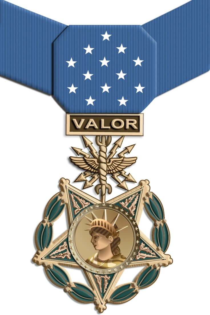 """MEDAL, n. A small metal disk given as a reward for virtues, attainments or services more or less authentic.  It is related of Bismark, who had been awarded a medal for gallantly rescuing a drowning person, that, being asked the meaning of the medal, he replied: """"I save lives sometimes."""" And sometimes he didn't."""
