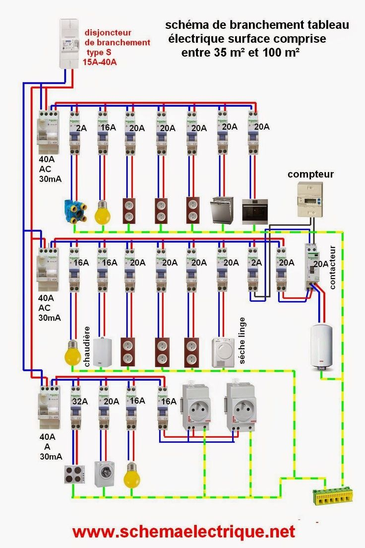 Best 25 electrical wiring ideas on pinterest electrical - Schema electrique telerupteur ...