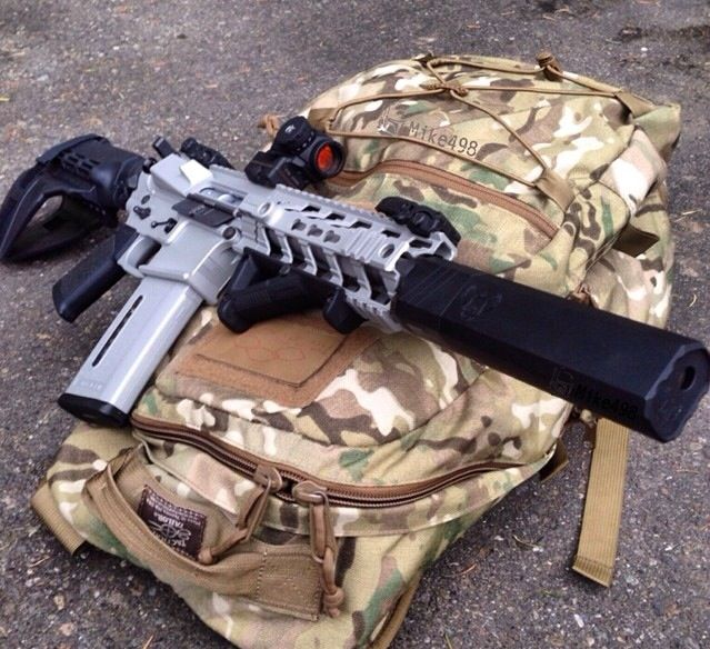 guns, weapons, self defense, protection, supressed, carbine, AR-15, 2nd amendment, America, firearms, munitions #guns #weapons