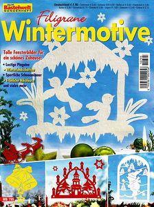 Paper cut-out book (Winter)