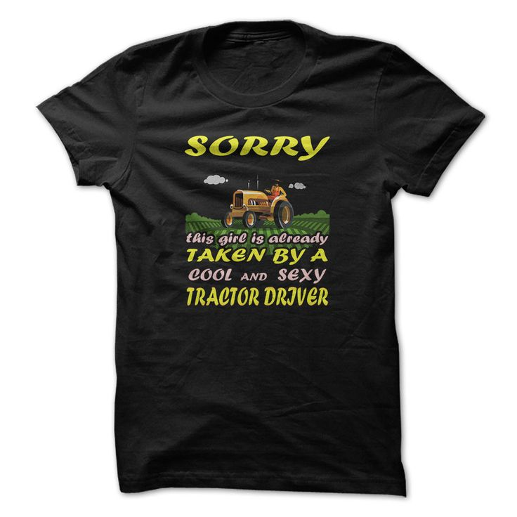 Tracktor driver t-shirt - Taken by tractor driver