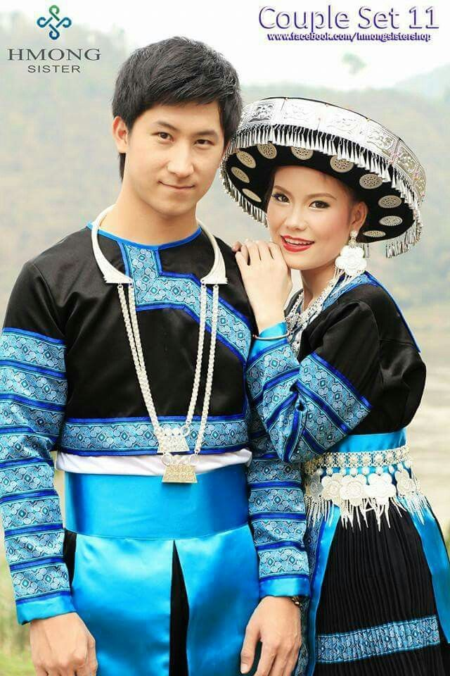 Couple set | Hmong | Fashion, Couple outfits, Engagement ...