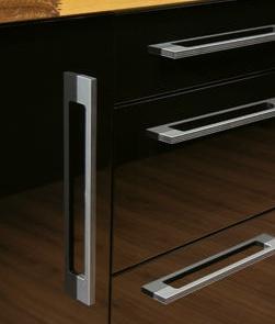 Slimline kitchen handles