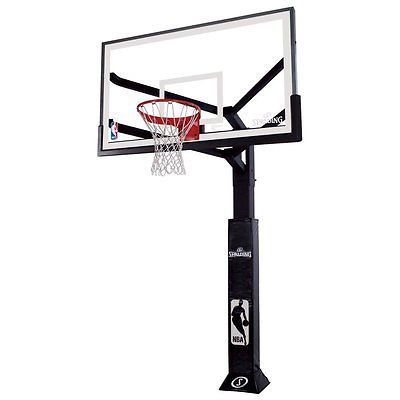 Other Basketball 2023: Spalding Arena View Inground Basketball Hoop System, 72-Inch -> BUY IT NOW ONLY: $2399 on eBay!