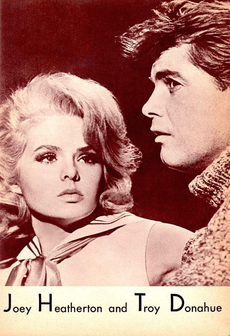 JOEY HEATHERTON & TROY DONAHUE in My Blood Runs Cold 1965. from Eroticism 1965 Japan Film & Men's mag. (please follow minkshmink on pinterest) #joeyheatherton #troydonahue #sexkitten