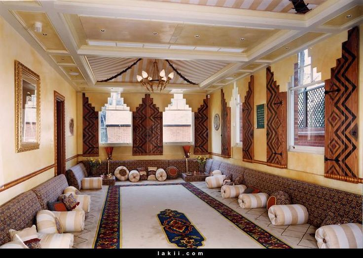 Arabic Majlis Interior Design Decoration Glamorous Design Inspiration