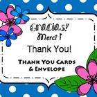 TEACHERS--SAVE TIME!  FREEBIE!  Five different cards for you to thank the special people around you: teachers, volunteers, instructional assistants--anyone who has helped you this year! Easy to print, fold and tuck into an envelope. Personalize with just about anything from glitter to stickers...Quick little thank you cards to hand out at a busy time of year.