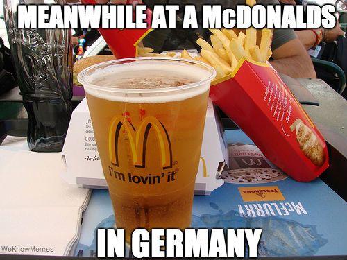 Mcdonalds In Germany