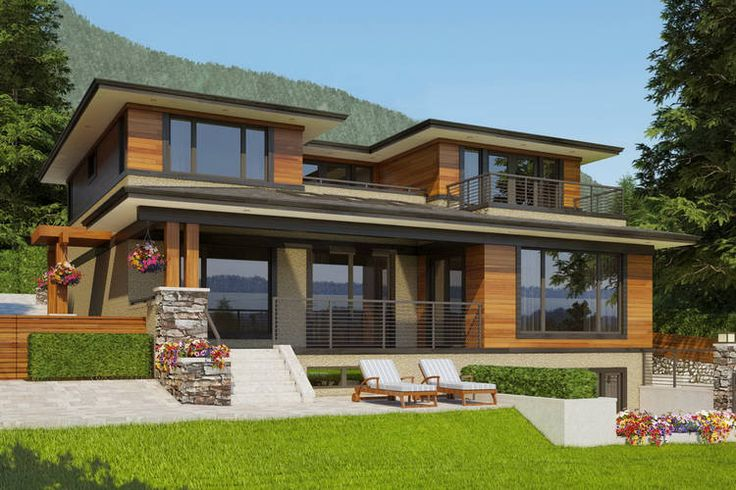 Home Design Ideas Contemporary: West Coast Contemporary Architectural Project