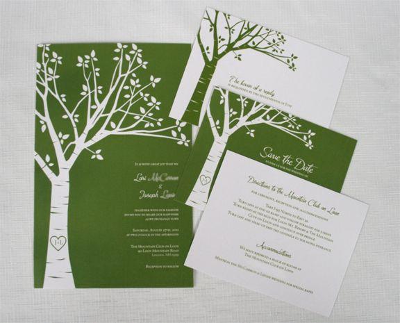 Free Nature Wedding Invitations