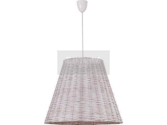 Nowodvorski Lampa wisząca Willow white I zwis L 4237 : Lampy wiszące drewniane : Sklep internetowy Elektromag (#cottage #lamp)