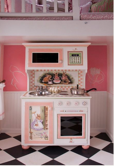 223 best images about playhouses on pinterest play for Playhouse kitchen ideas