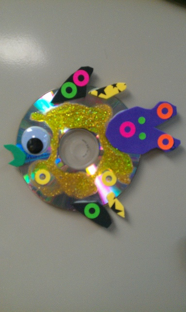 cd fish- recycling project on Earth Day by Mrs.Banks loves Art, via Flickr