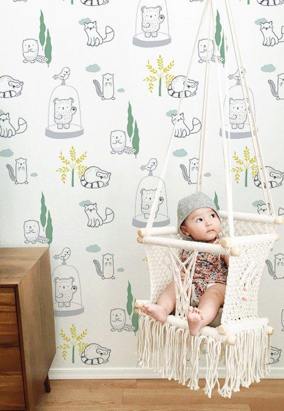Top 25 best papier peint chambre b b ideas on pinterest - Papier peint pour chambre bebe fille ...