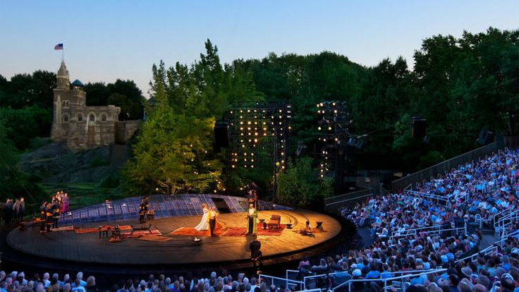 The Public Theater offers free plays and big stars every summer at Shakespeare in the Park, one of the city's most beloved cultural events