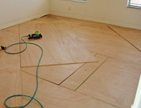 Step by Step: Installing a Floating Subfloor