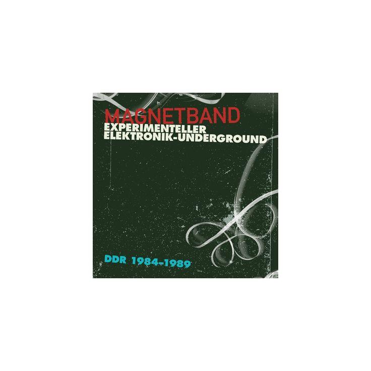 Magnetband: Experimenteller Elektronik & Various - Magnetband: Experimenteller Elektronik / Various (CD)
