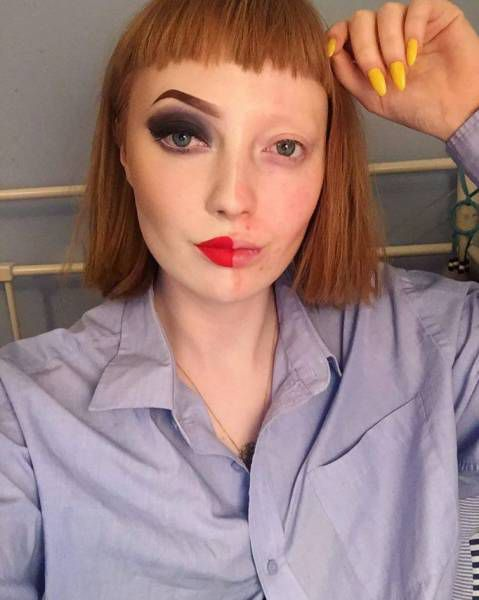 a makeup pro shows the real difference makeup can make in these hardhitting before and after pics 640 05 Shocking before and after makeup results from a 19 year old