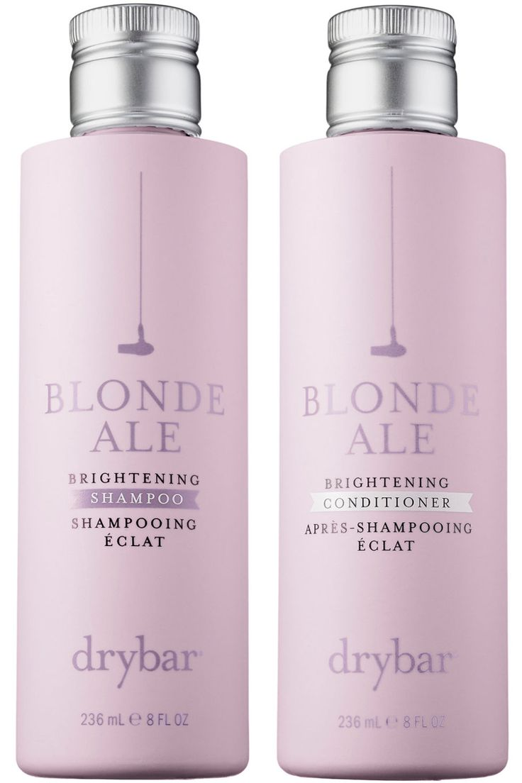 Drybar Blonde Ale Brightening Shampoo and Brightening Conditioner, $27 each, sephora.com.