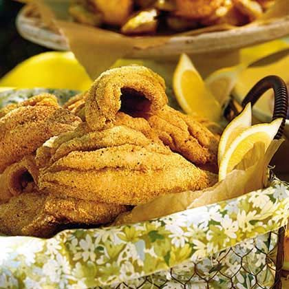Delta-Style Fried Catfish | Learn how to make Delta-Style Fried Catfish. MyRecipes has 70,000 tested recipes and videos to help you be a better cook