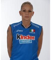 Simona Gioli - giocatrice della Nazionale Italiana di Pallavolo, nata a Rapallo, Liguria, Italy