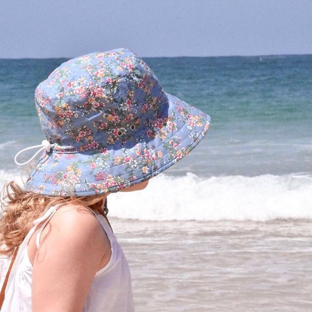 Sunsmart and stylish  Marlow bucket hat for the win  hurry to grab this for 40% off in our Summer sale... enter promo code SUMMER40 xx @withmylittleloves